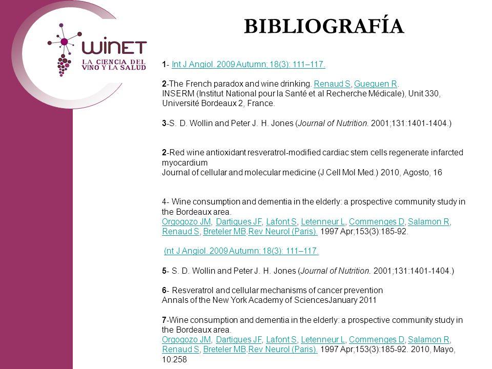 BIBLIOGRAFÍA 1- Int J Angiol. 2009 Autumn; 18(3): 111–117.