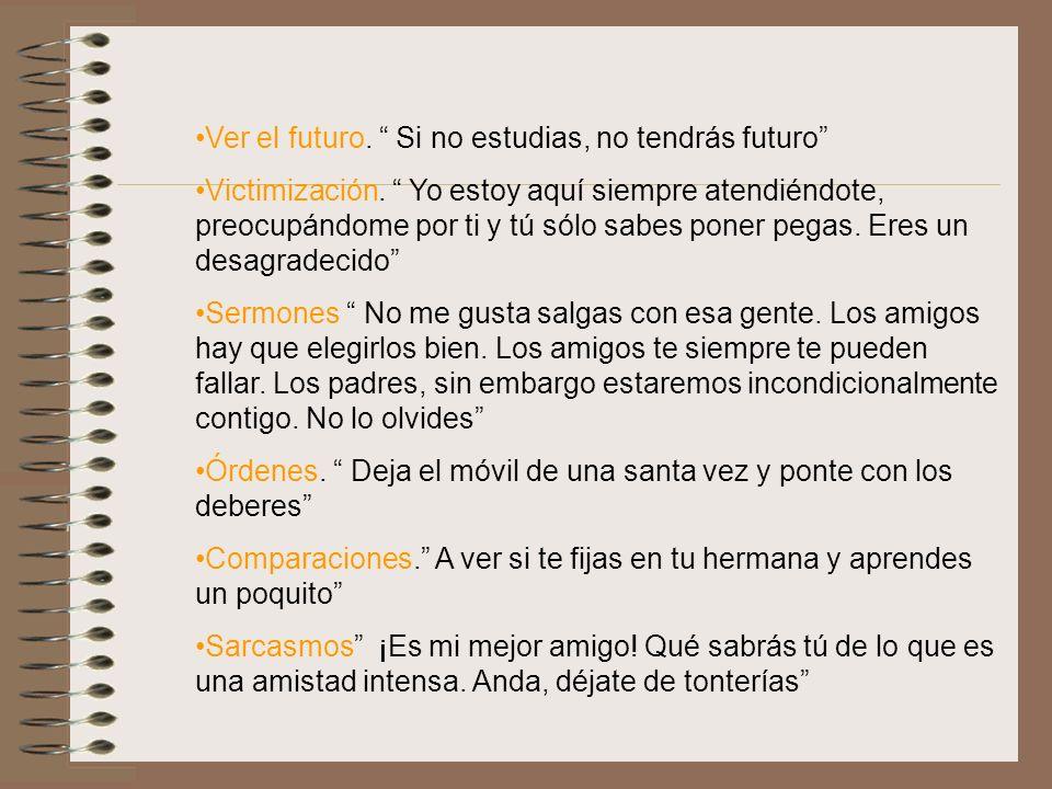 Ver el futuro. Si no estudias, no tendrás futuro