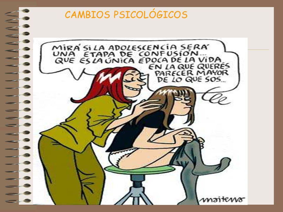CAMBIOS PSICOLÓGICOS
