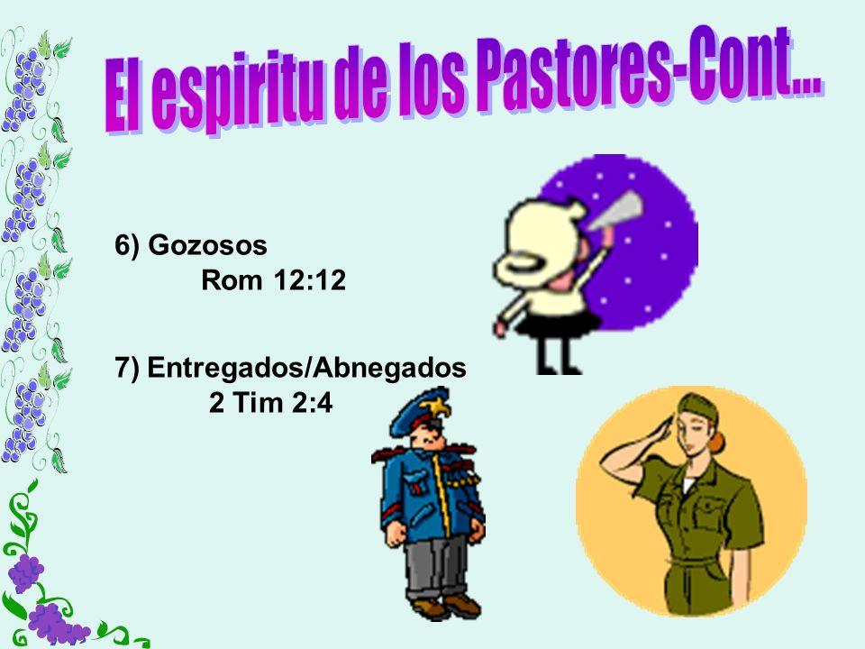 El espiritu de los Pastores-Cont...