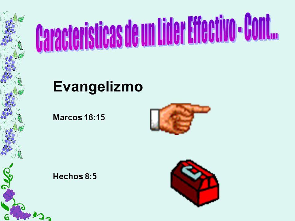 Caracteristicas de un Lider Effectivo - Cont...