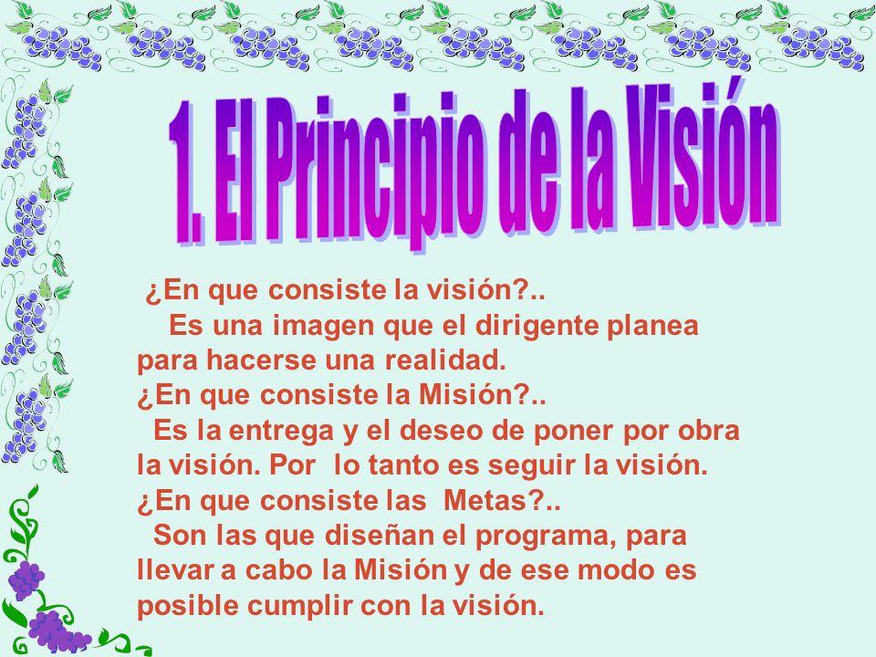 1. El Principio de la Visión
