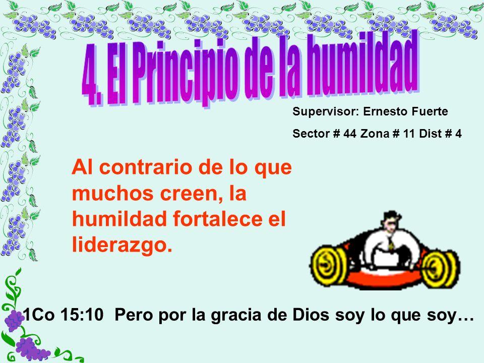 4. El Principio de la humildad