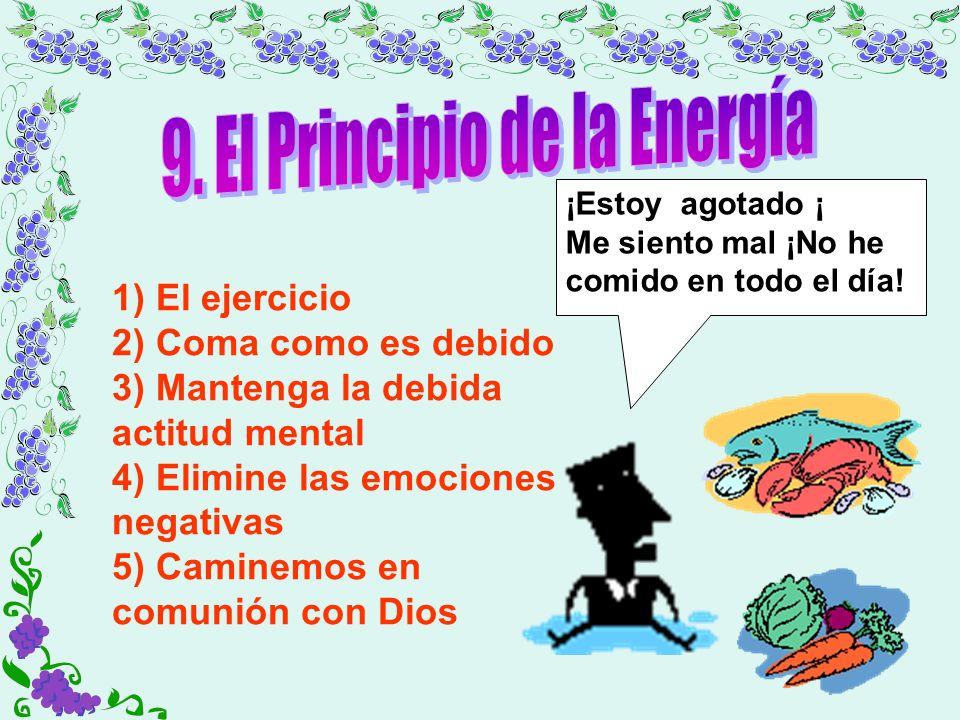 9. El Principio de la Energía