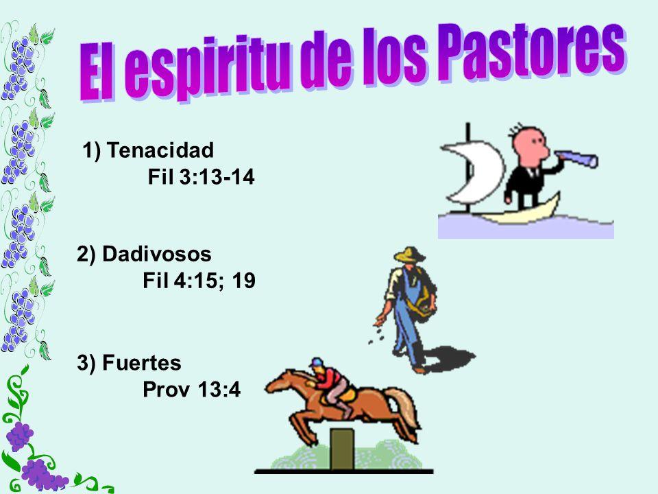 El espiritu de los Pastores
