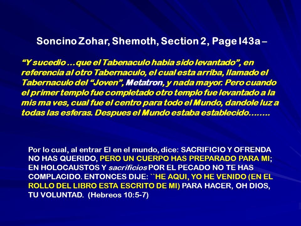Soncino Zohar, Shemoth, Section 2, Page I43a –