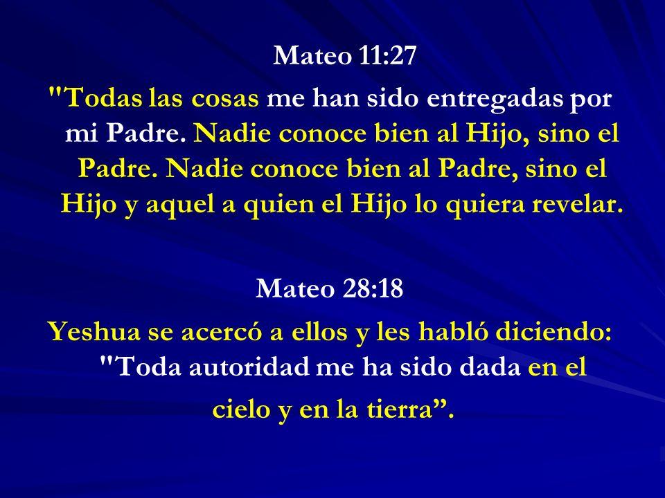 Mateo 11:27
