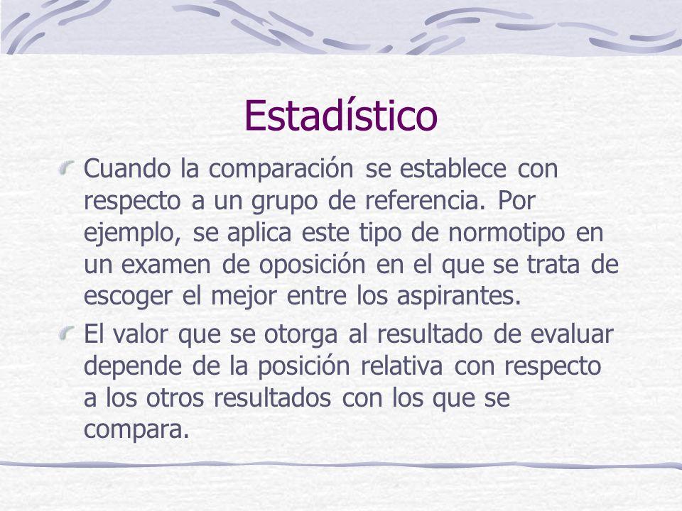 Estadístico