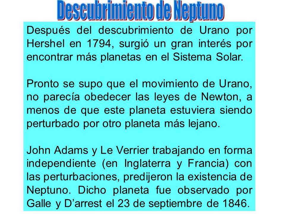 Descubrimiento de Neptuno