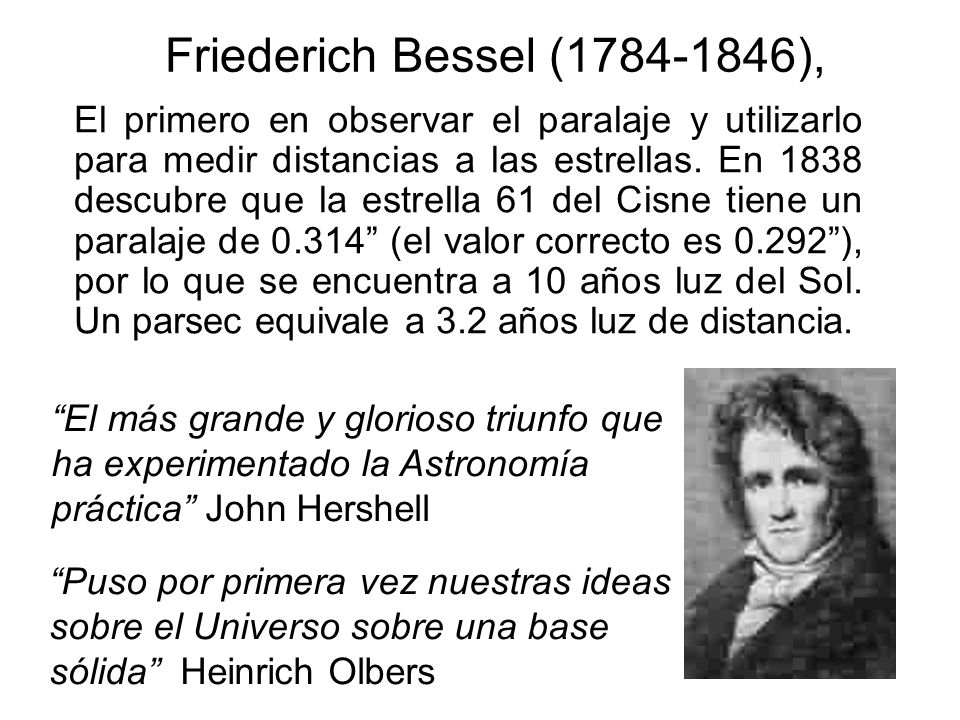 Friederich Bessel (1784-1846),