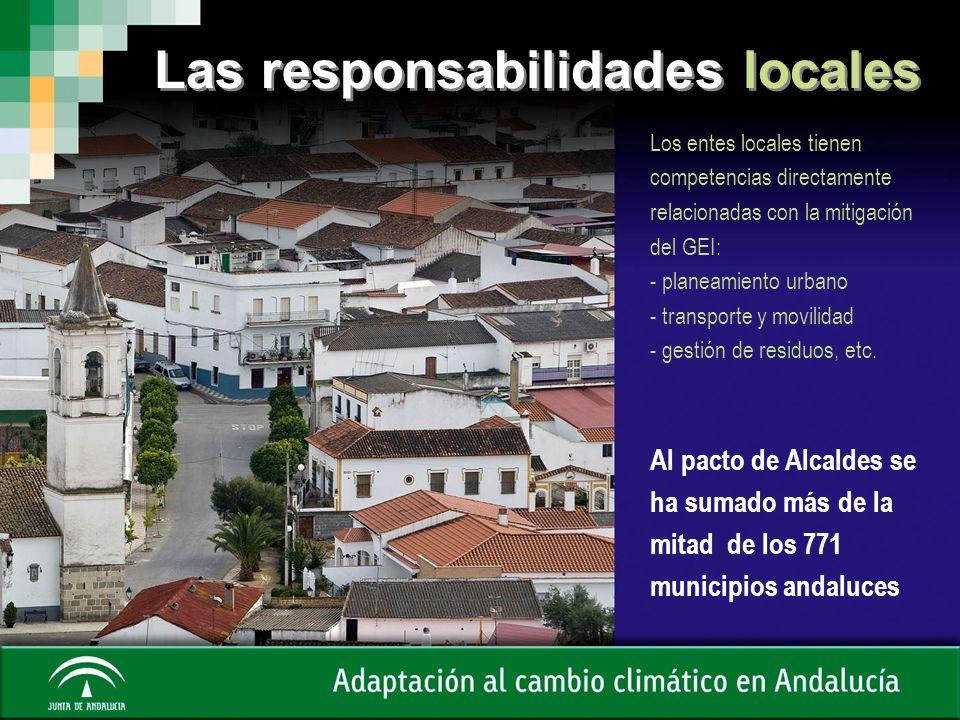 Las responsabilidades locales