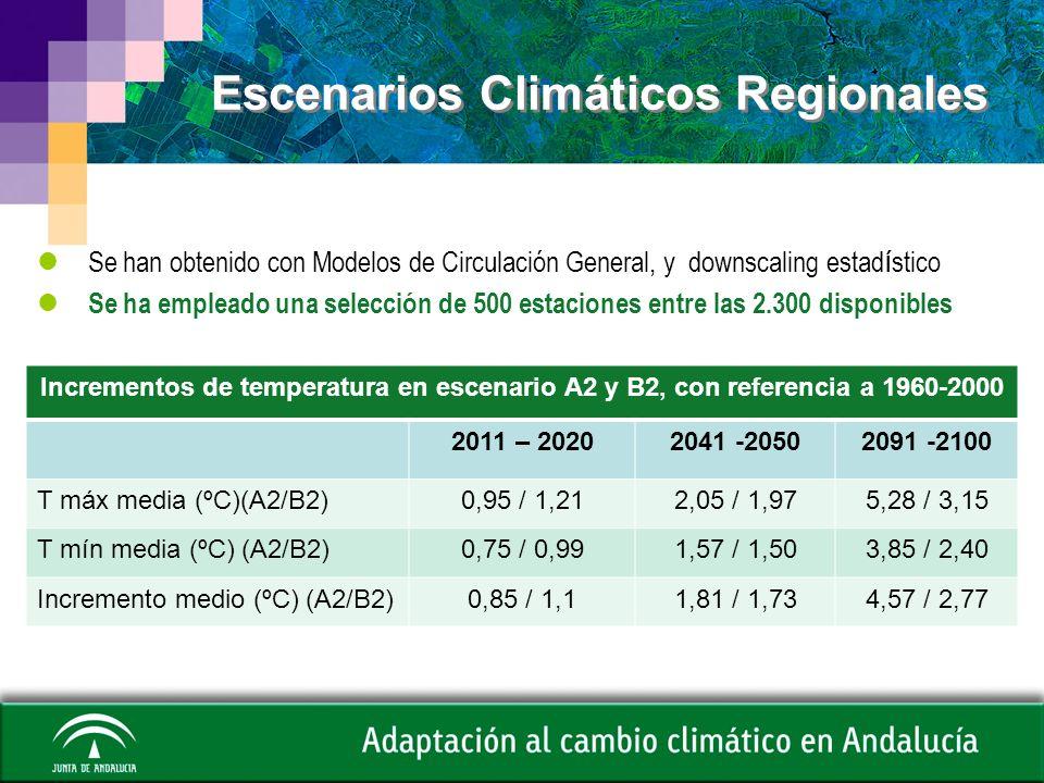 Escenarios Climáticos Regionales