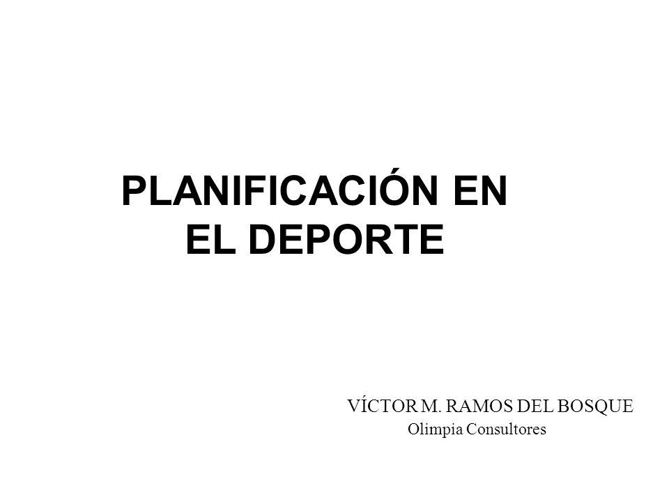 PLANIFICACIÓN EN EL DEPORTE