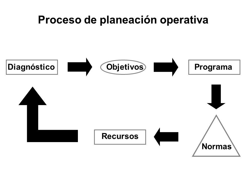 Proceso de planeación operativa