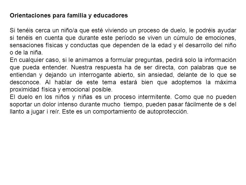 Orientaciones para familia y educadores