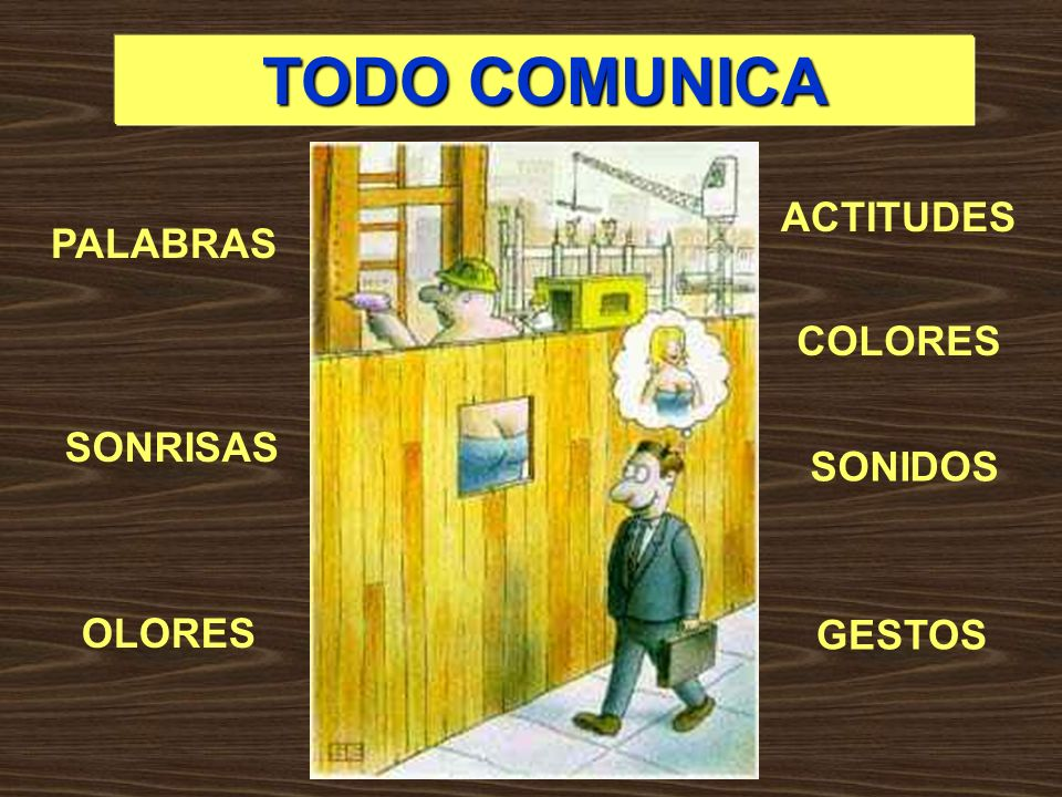TODO COMUNICA ACTITUDES PALABRAS COLORES SONRISAS SONIDOS OLORES