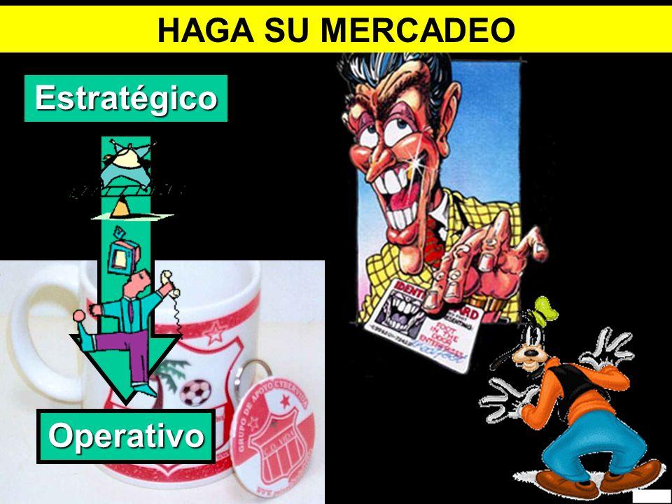 HAGA SU MERCADEO Estratégico Operativo