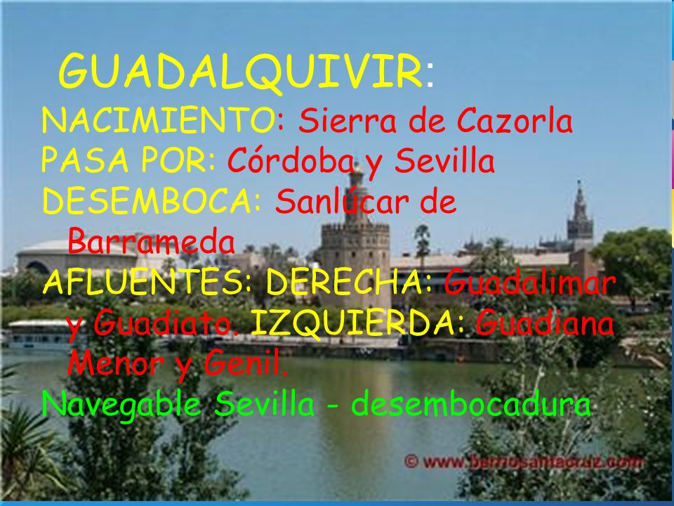 GUADALQUIVIR: NACIMIENTO: Sierra de Cazorla