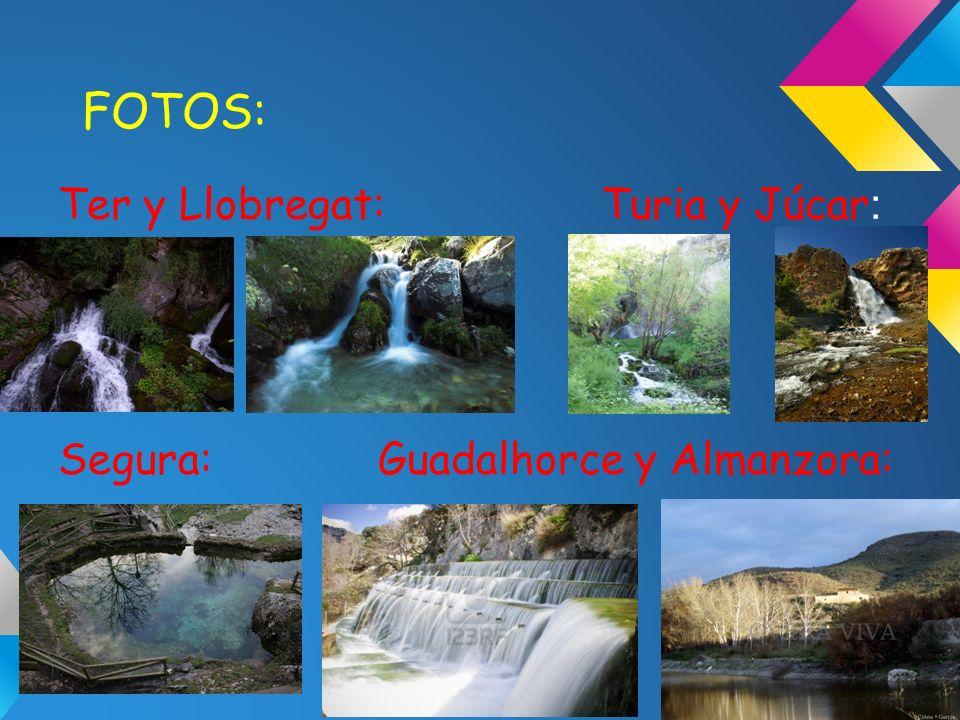 FOTOS: Ter y Llobregat: Turia y Júcar: