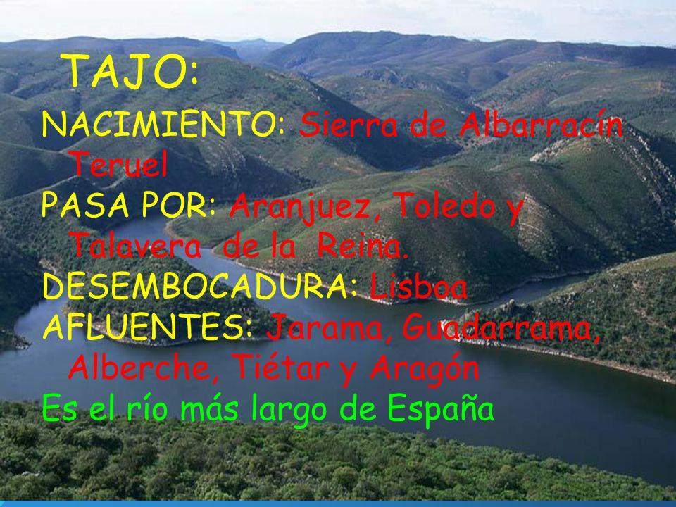 TAJO: NACIMIENTO: Sierra de Albarracín Teruel
