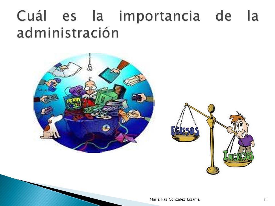 Cuál es la importancia de la administración