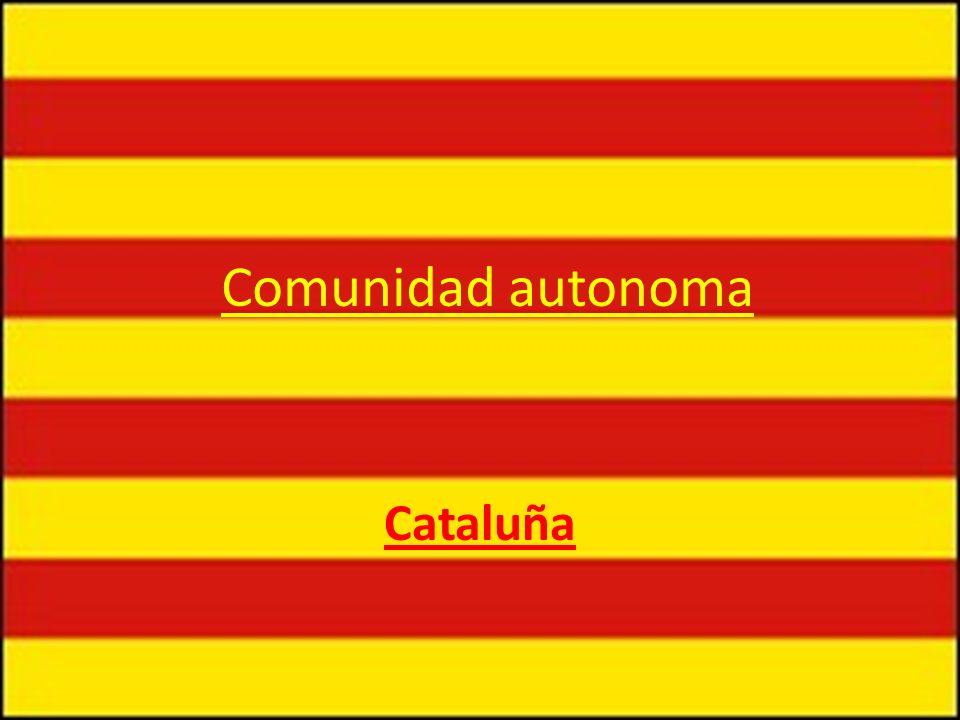 Comunidad autonoma Cataluña