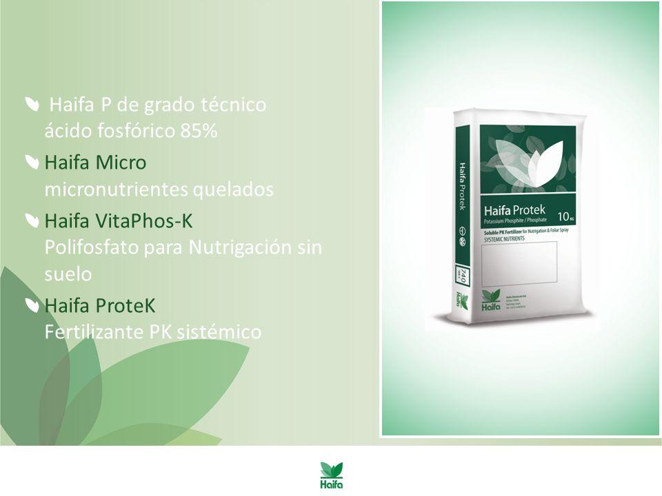 Haifa P de grado técnico ácido fosfórico 85%