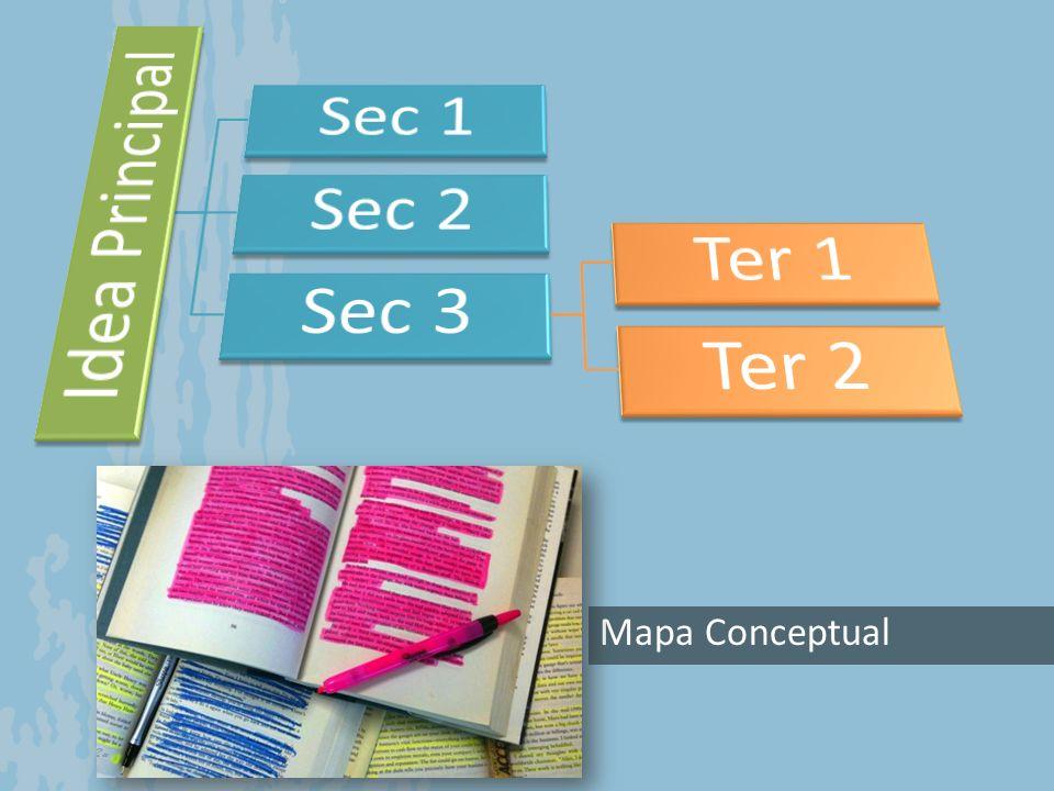 Idea Principal Sec 1 Sec 2 Sec 3 Ter 1 Ter 2 Mapa Conceptual