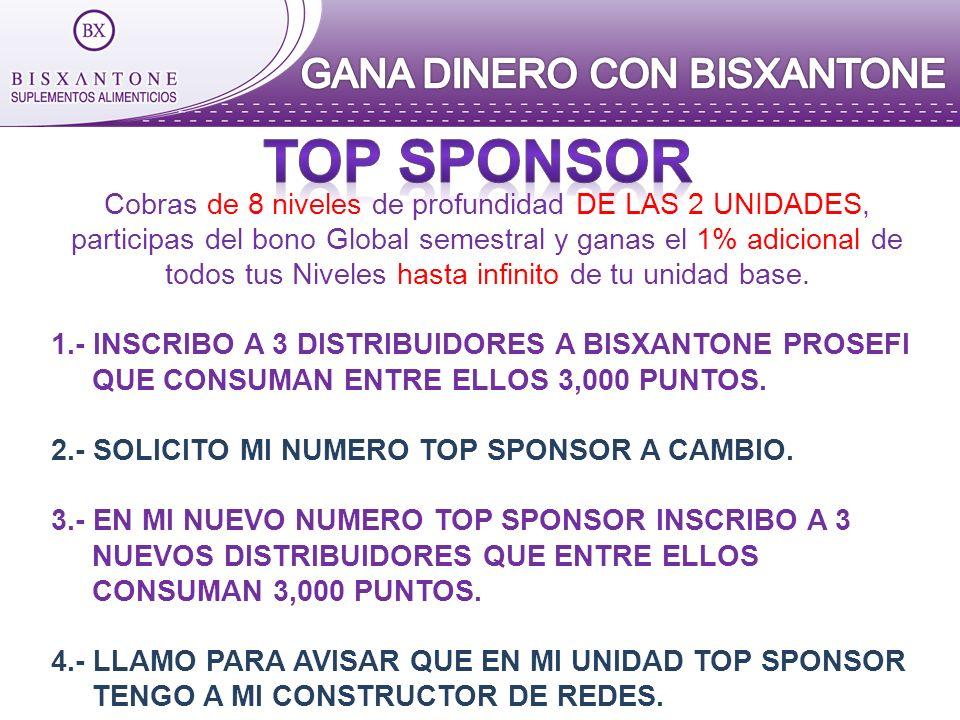 TOP SPONSOR GANA DINERO CON BISXANTONE