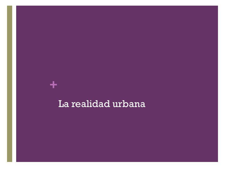 La realidad urbana