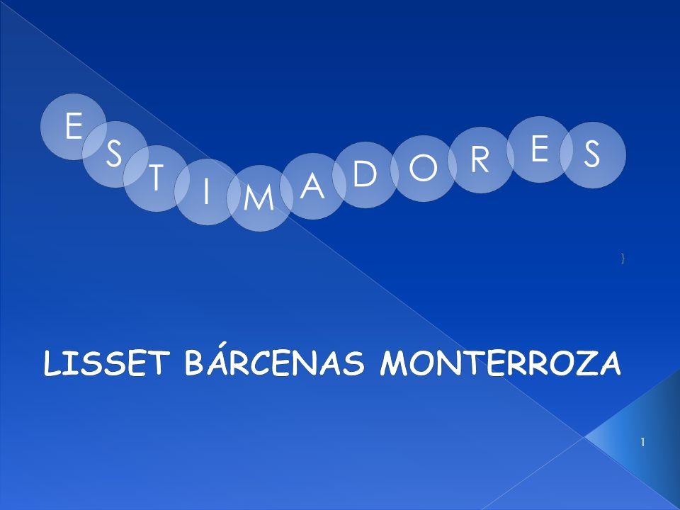 } LISSET BÁRCENAS MONTERROZA