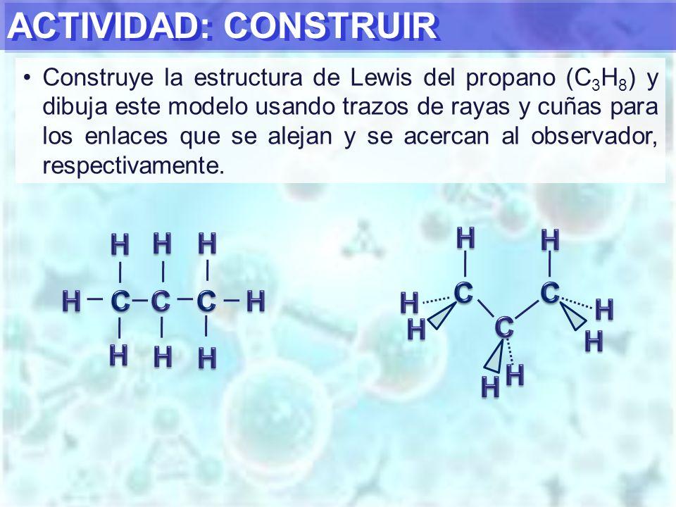 ACTIVIDAD: CONSTRUIR H C H C