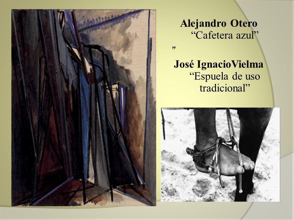 Alejandro Otero Cafetera azul