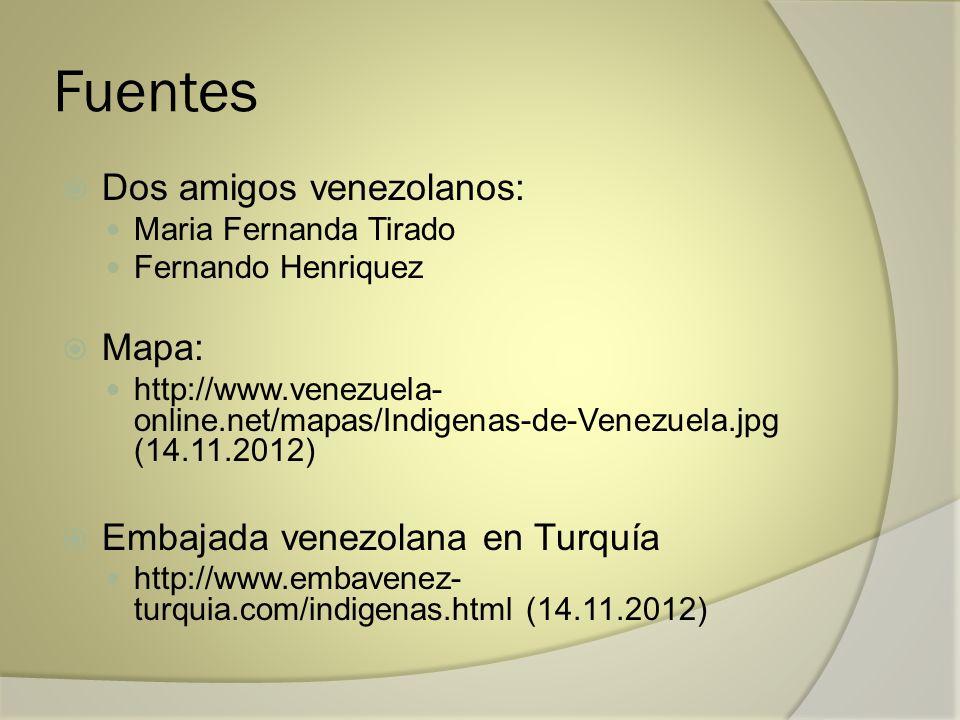 Fuentes Dos amigos venezolanos: Mapa: Embajada venezolana en Turquía