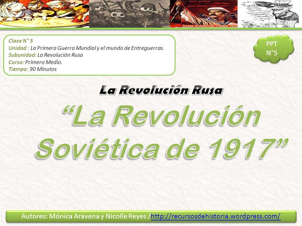 La Revolución Soviética de 1917