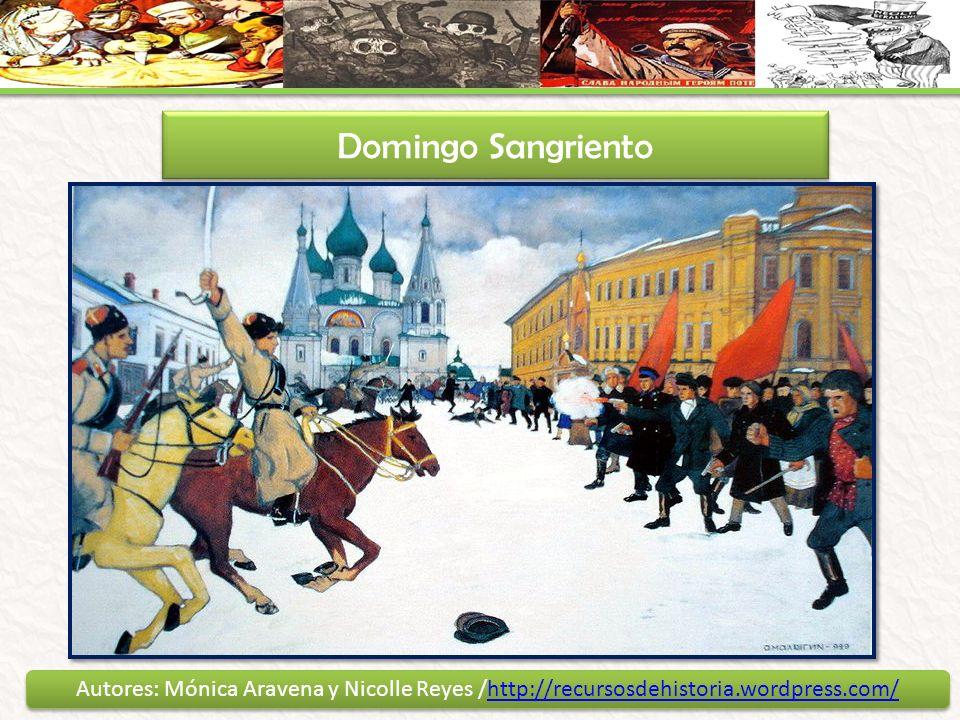 Domingo Sangriento Autores: Mónica Aravena y Nicolle Reyes /http://recursosdehistoria.wordpress.com/