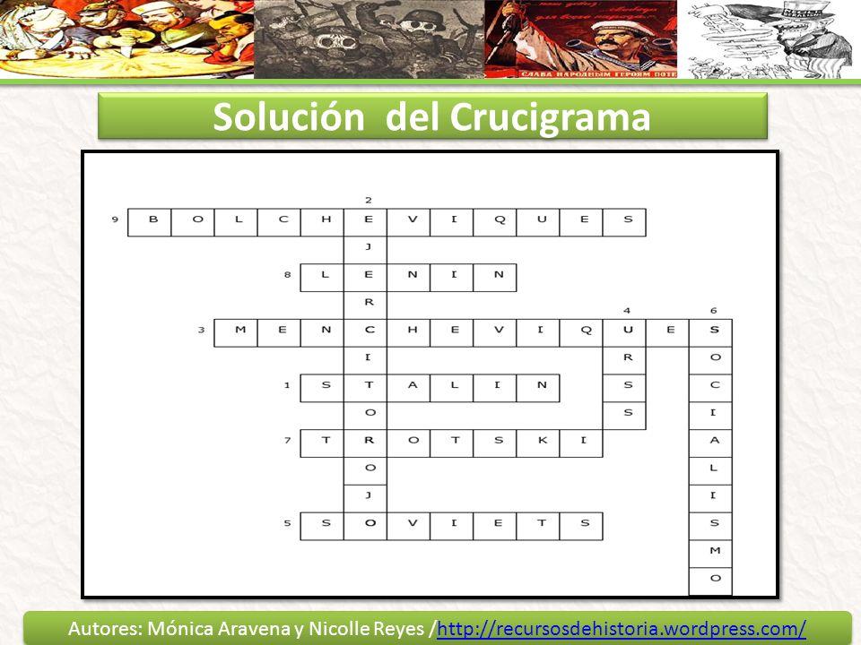 Solución del Crucigrama
