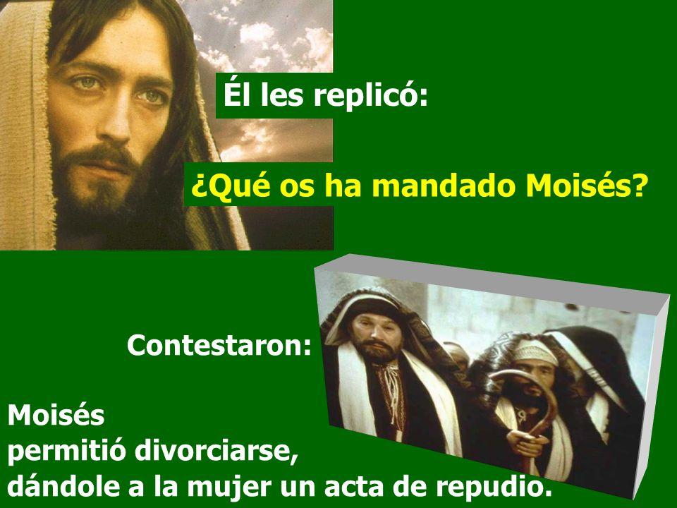 ¿Qué os ha mandado Moisés