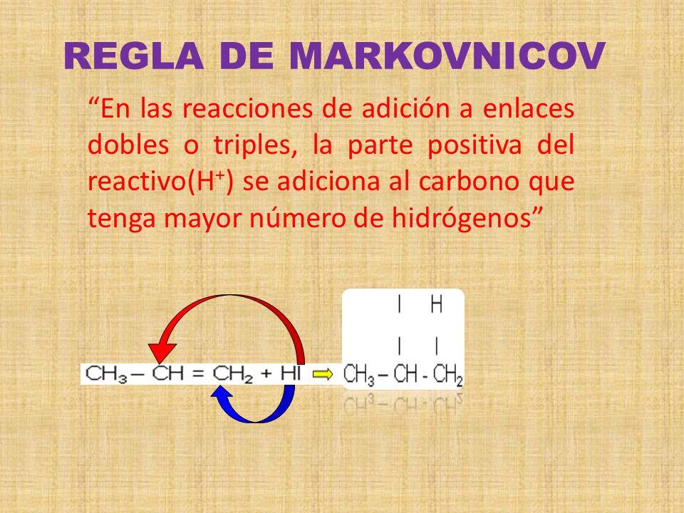 REGLA DE MARKOVNICOV