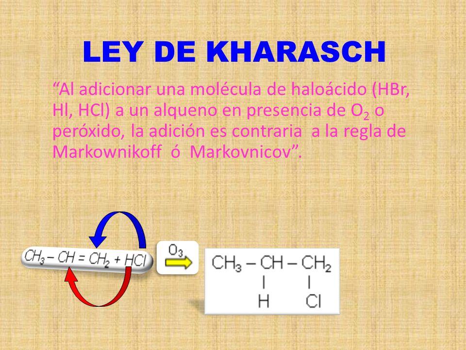 LEY DE KHARASCH
