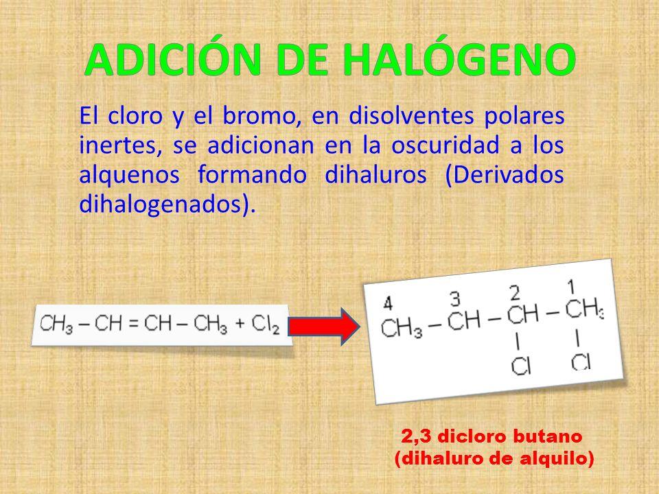 ADICIÓN DE HALÓGENO