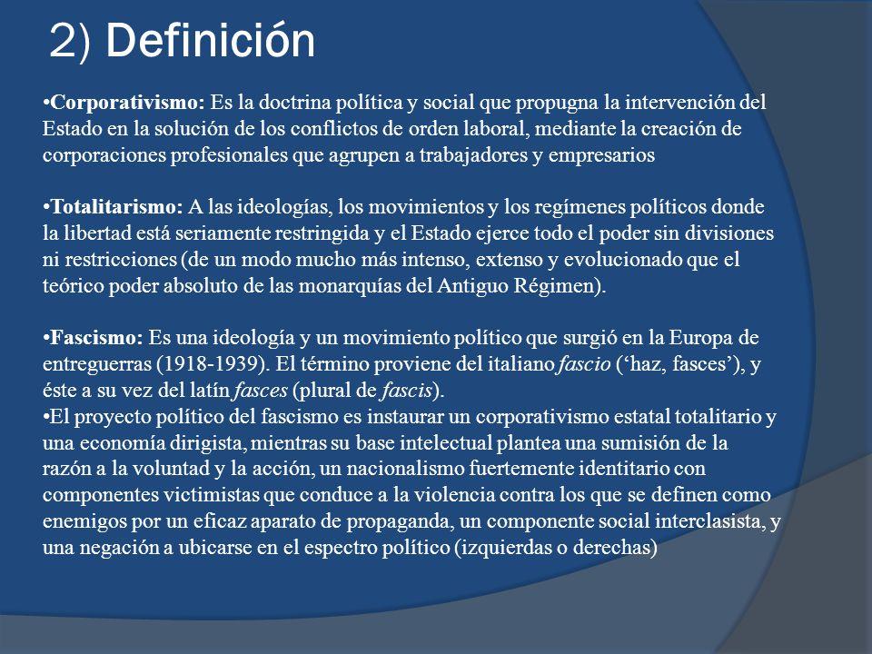 2) Definición