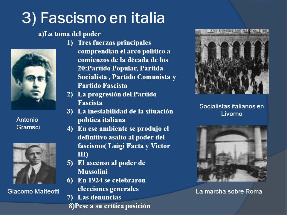 Socialistas italianos en Livorno