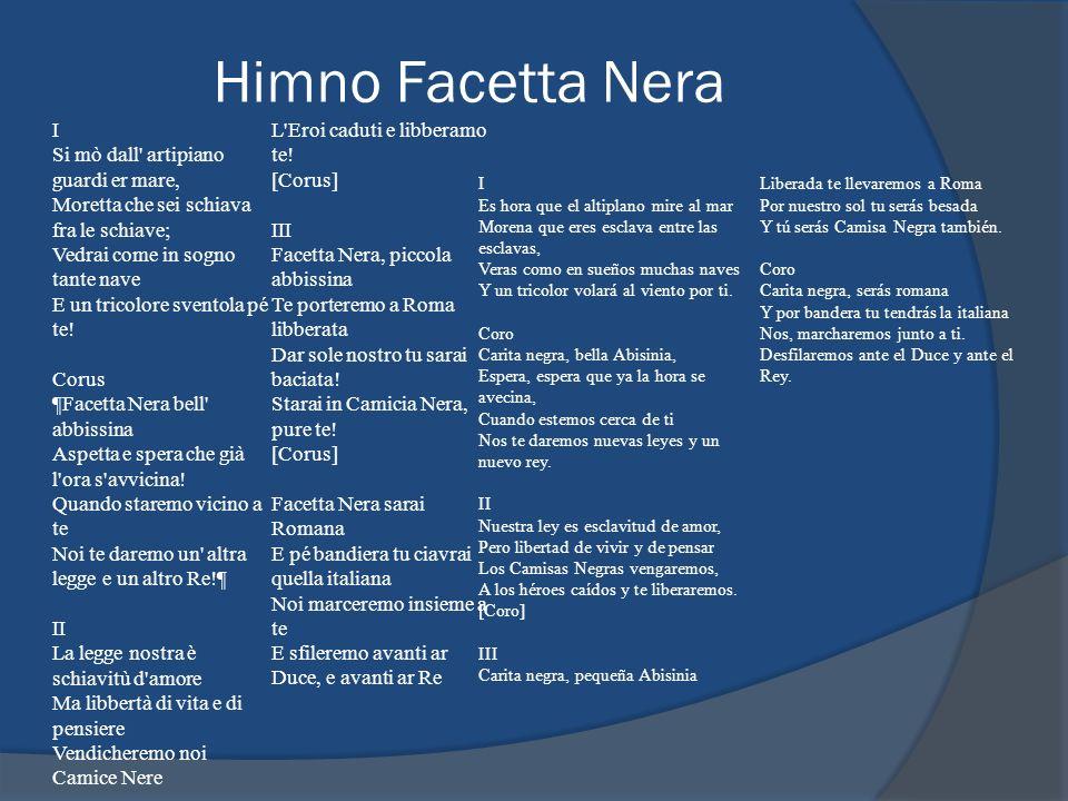 Himno Facetta Nera I.