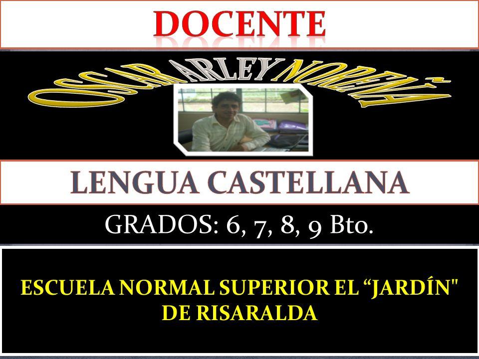 ESCUELA NORMAL SUPERIOR EL JARDÍN DE RISARALDA