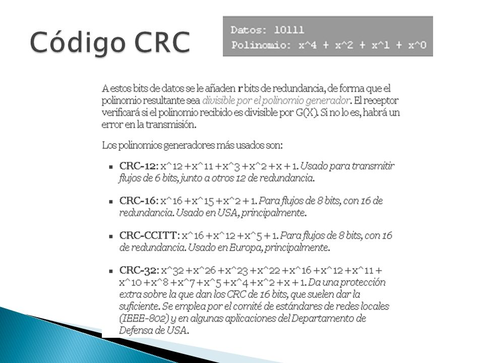 Código CRC