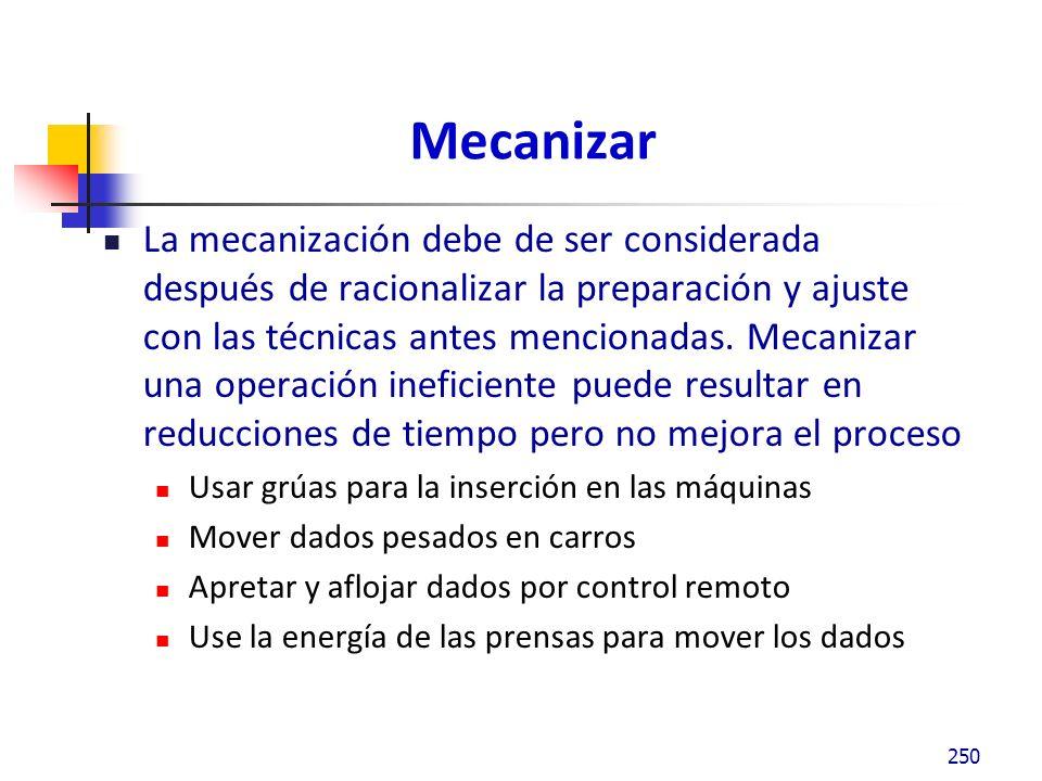 Mecanizar