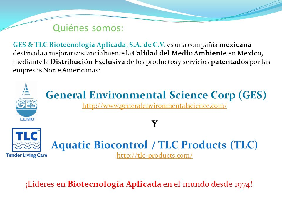 General Environmental Science Corp (GES)