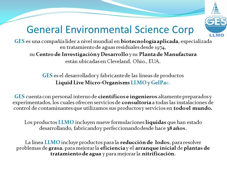 General Environmental Science Corp