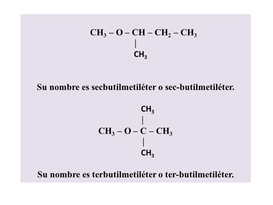Su nombre es secbutilmetiléter o sec-butilmetiléter.